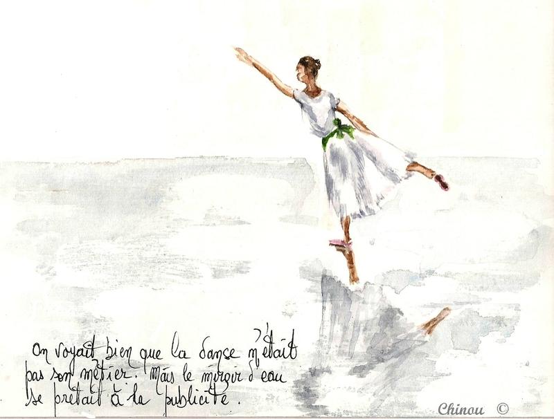 Danse sur le miroir