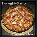 Pain rassi goût pizza