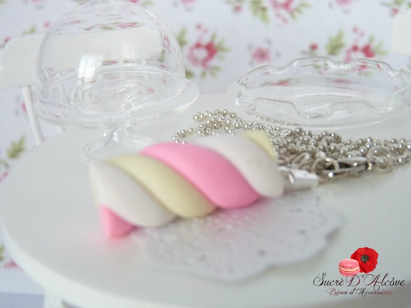 Collier gourmand chamalow (4)