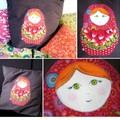 coussin matriochka