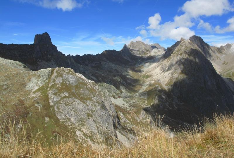 11-8-10 Vue depuis sommet Mt Rosset