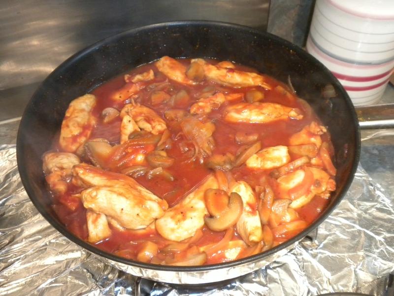 Filets de poulet au paprika