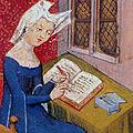 christine de pisan (1361 – 1430 ?) : « seulette suis… »
