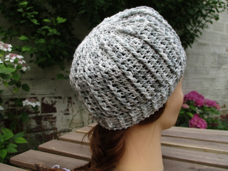 Bonnet simple en fil coton (4)