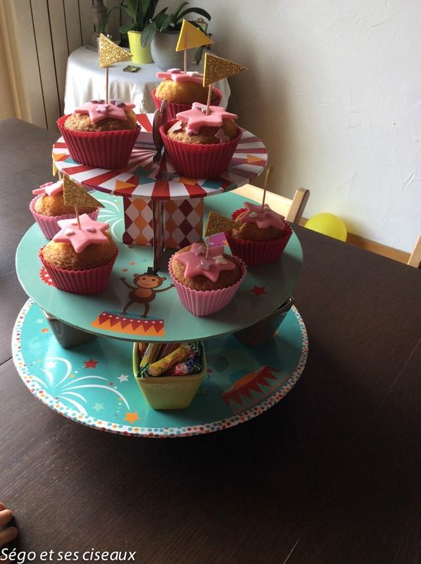 Quelques cupcakes sucrées pour princesses
