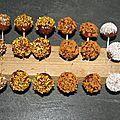 Cakes pops sucré avec la machine popcake