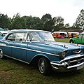 CHEVROLET Bel Air 4door hardtop 1957 Madine (1)