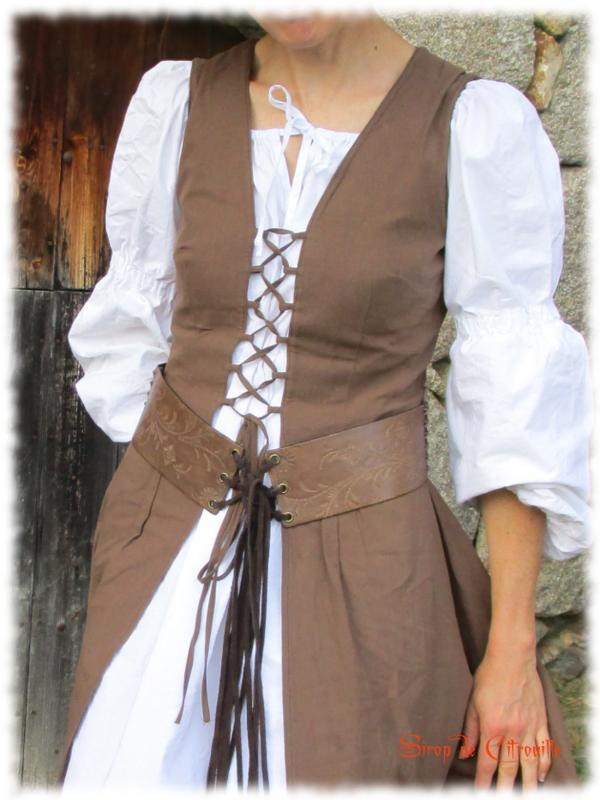 robe médiévale 3