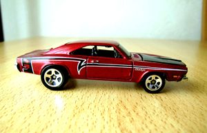 Dodge charger de 1969 -Hotwheels- (2009) 03
