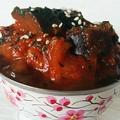 Aubergines à la tomate et au curry panang