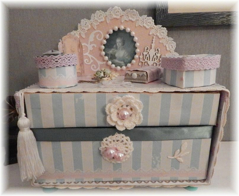 ma petite commode shabby univers de mes loisirs. Black Bedroom Furniture Sets. Home Design Ideas