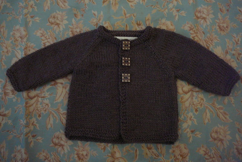 Gilet 3 boutons (taille 3 mois)