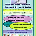 Inscription à la finale du challenge besse sur issole 21 avril