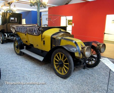 Charron LTD type X 12HP torpedo de 1910 (Cité de l'Automobile Collection Schlumpf à Mulhouse) 01
