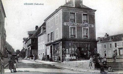 Mézidon - place de la Mairie (rue Jules Guesde)
