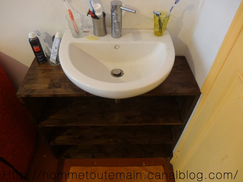cr ation d 39 un meuble sous vasque sur mesure 2 r nover. Black Bedroom Furniture Sets. Home Design Ideas