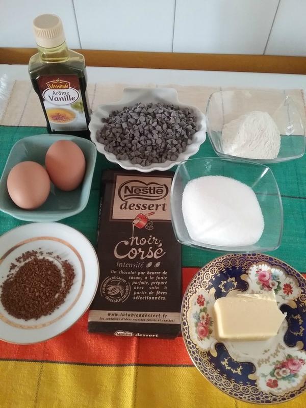 Cookies Brownies au chocolat 001