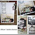 visuel mini album Jardin d'antan samedi 06