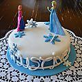 Gâteau reine des neiges (4)