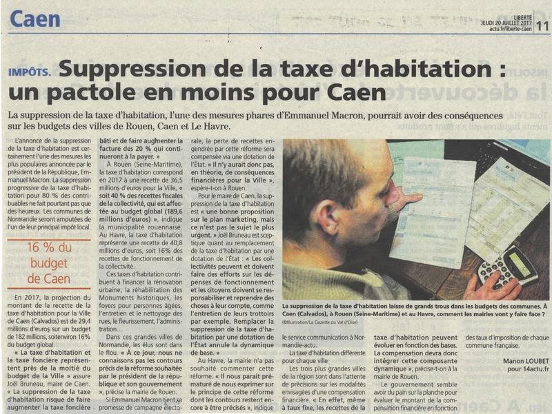 taxe d'habitation BLN 200717