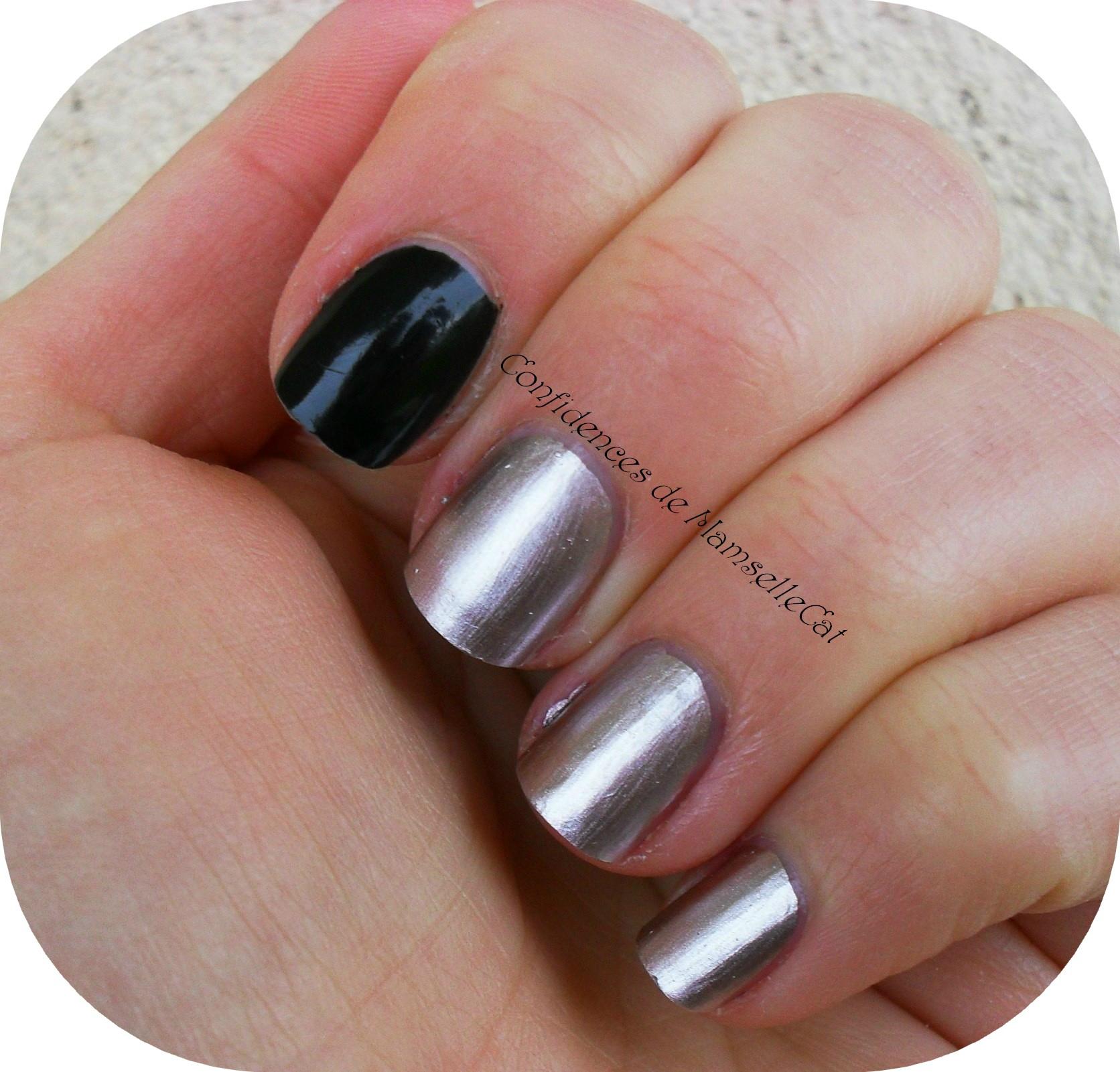 Manucure effet miroir nails inc confidences de mamsellecat for Vernis a ongle effet miroir