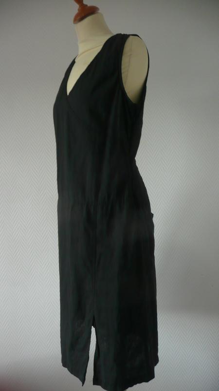 la robe longue de côté