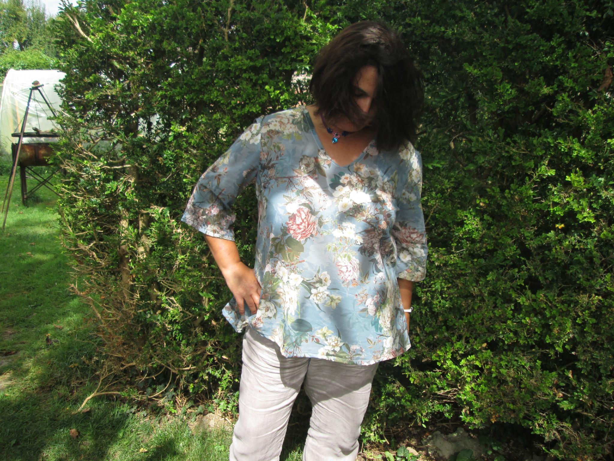 Variation de la blouse Cunégonde