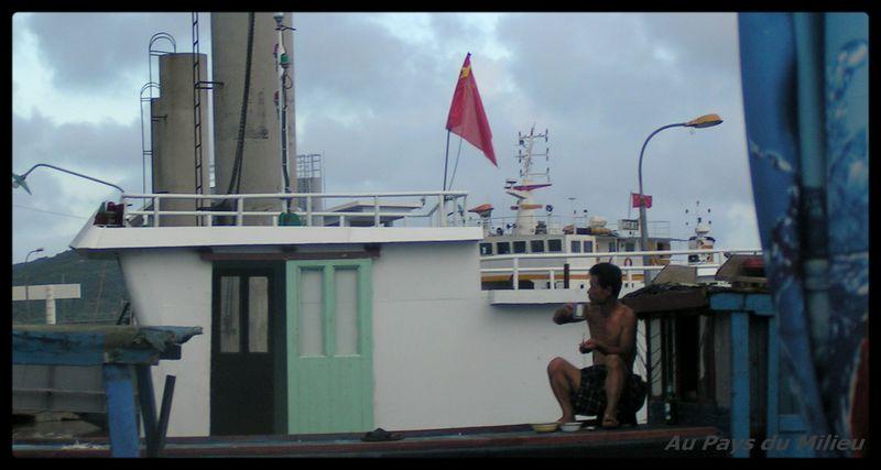 Archipel de Zhou Shan sur le port 02