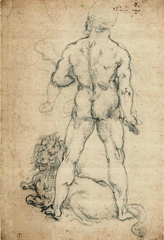 VINCI Hercule - 1505-1508 - Bibliothèque royale de Turin - site Thais