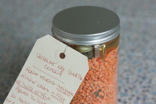 cadeau gourmand les astucieuses kit pour veloute lentilles corail