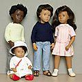 Mes poupées sasha