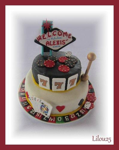 Gâteau LAS VEGAS 110136314