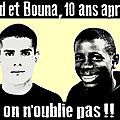 Zyed et bouna - 18 mai - appel à mobilisation nationale.