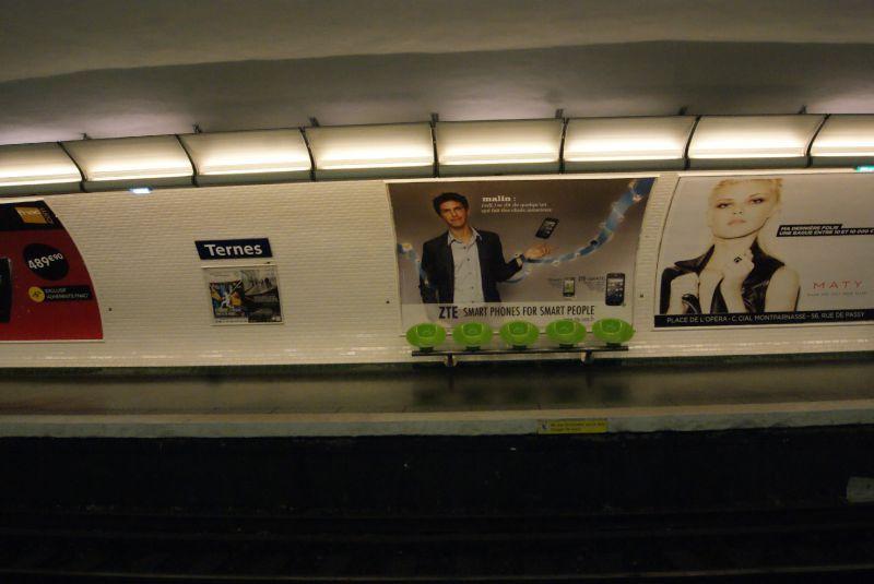 Défi métro #22: M2 Ternes - Le gâteau sous la cerise