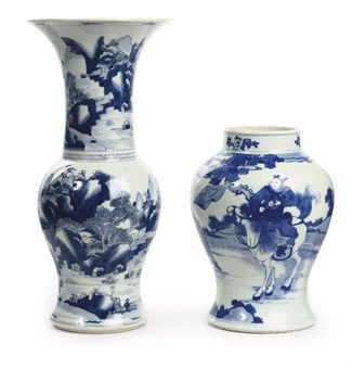 Kangxi Chinese Blue And White Porcelains Sold Christie S European Noble And Private
