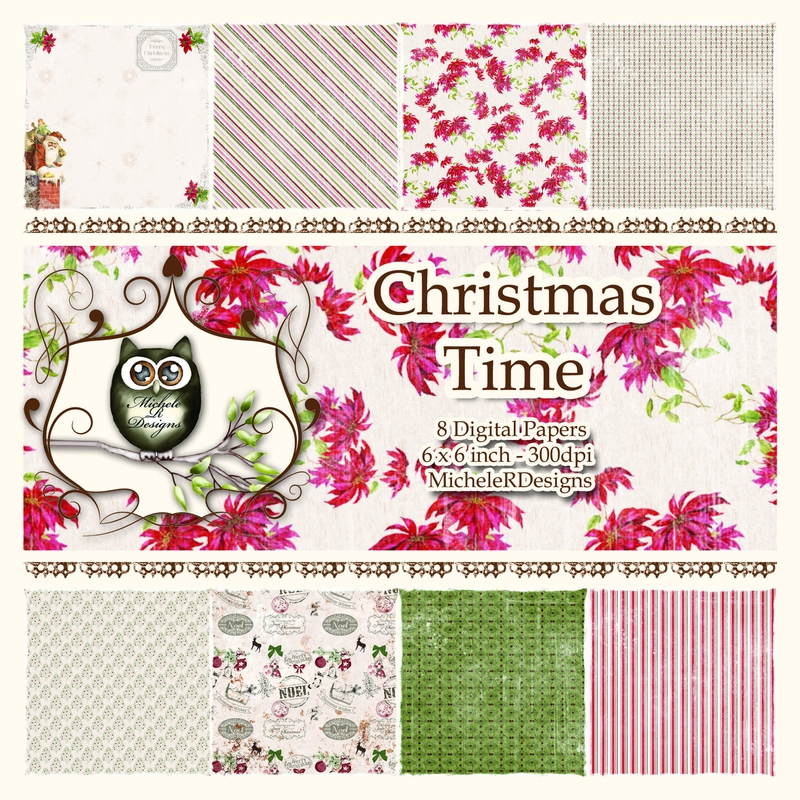Christmas Time Front Sheet