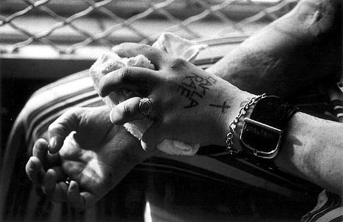 Hands With Tattoo 1976