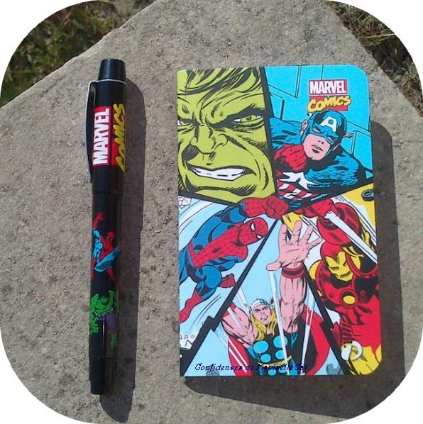 stylo plume marvel