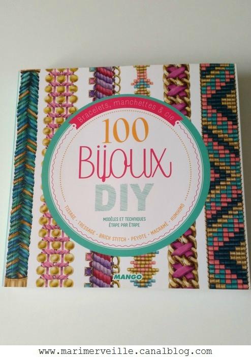 100 bijoux DIY éditions Mango - blog Marimerveille