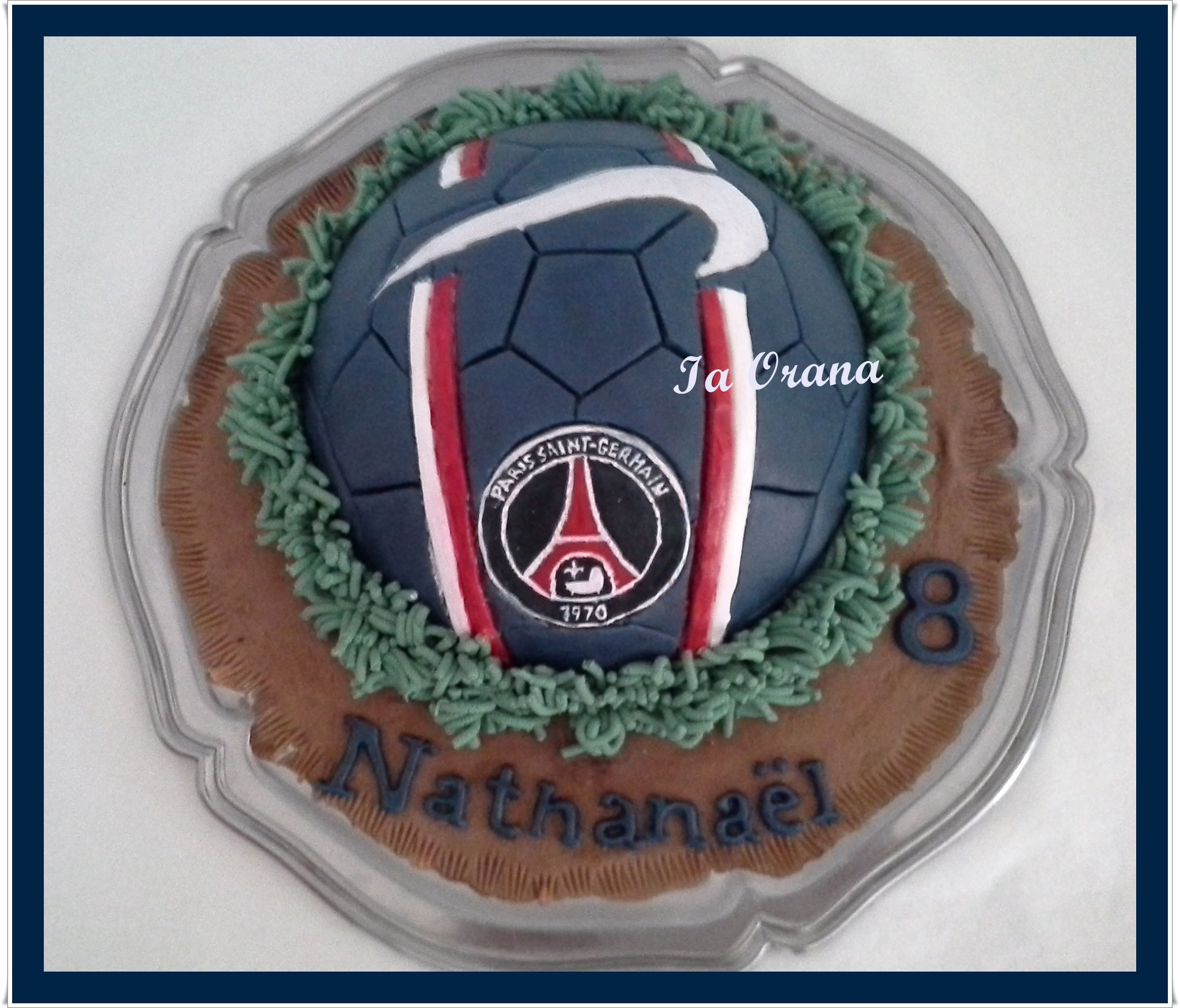 Gâteau ballon de football / Football ball cake