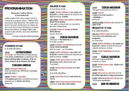 FLYER LAFITTE SUR SCENE 2012 pages intérieures