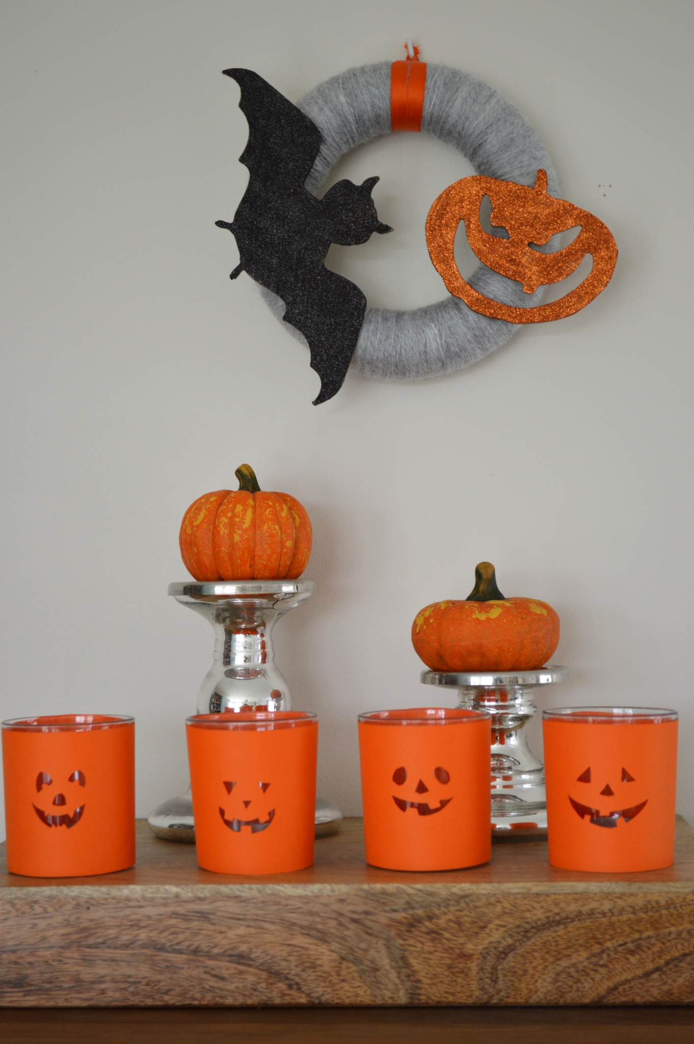 Id e de d co pour halloween des photophores citrouilles for Idee deco gateau halloween