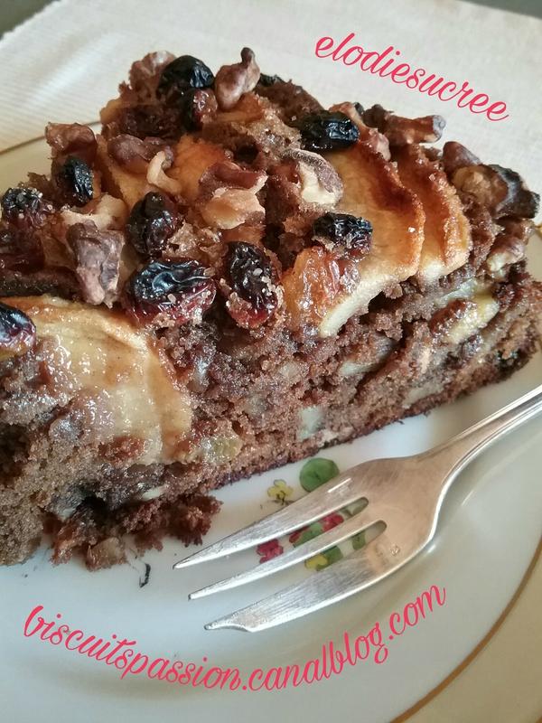 Gros gâteau aux pommes 135