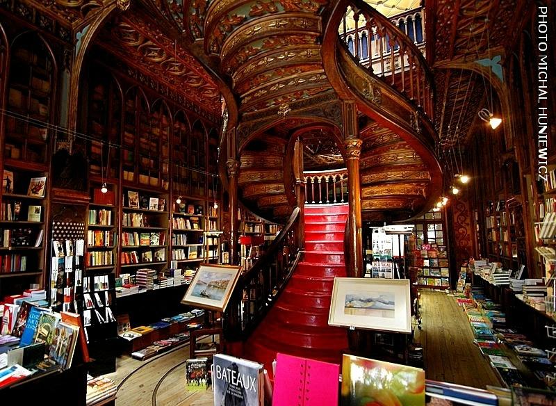 1990-librairie de Porto ayant inspire Joanne Rowling-photo de Michal Huniewicz