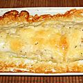 Filet de lingue (julienne) en croûte de cantal entre-deux