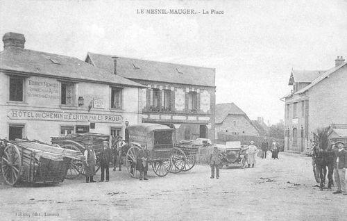 Le Mesnil-Mauger - hotel chemin de fer Prou
