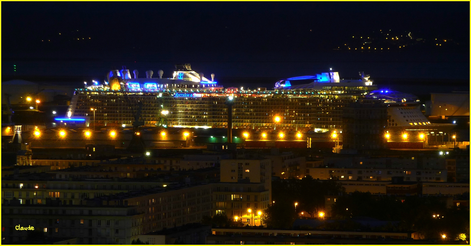 """ ANTHEM OF THE SEAS "" ........"