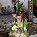 Bouquet parallèle vertical
