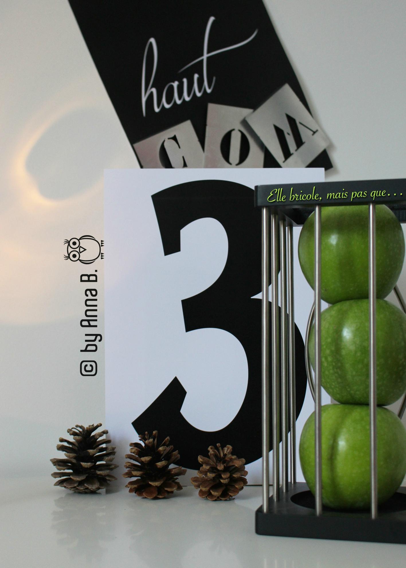 Défi 3 pommes