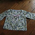 blouse en liberty, 25€